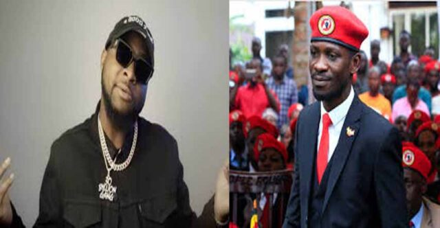 Uganda election: Davido declares support for Bobi Wine against Museveni