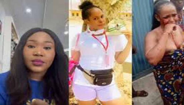 Woman claims she was once raped by the man hacked to death by youth corps member in Akwa Ibom (video)