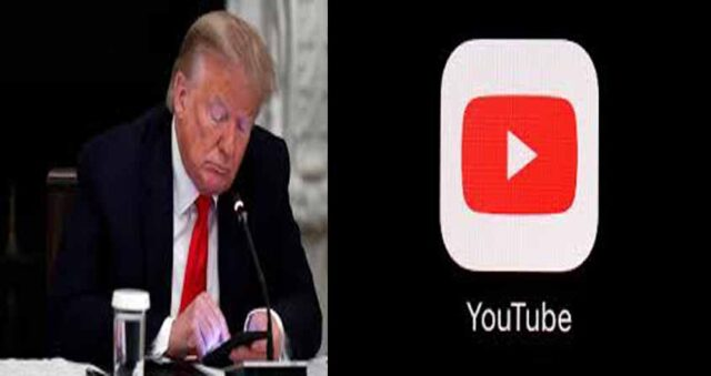 US: YouTube suspends Donald Trump's channel